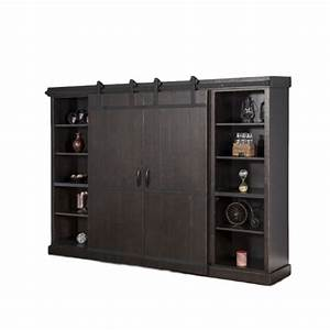 barn door wall cabinet charcoal home envy furnishings With barn door tv wall cabinet