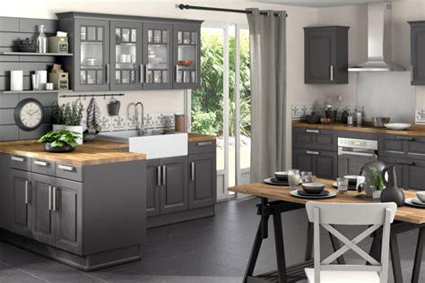 meuble de cuisine gris anthracite meuble gris cuisine mobilier design décoration d 39 intérieur