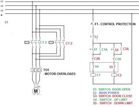 Reversing Phase Asynchronous Motor Using Limit