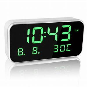 Led Music Alarm Clock Digital Snooze Clocks Despertador
