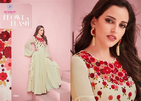 Krishna Creation » Arihant Glam Up Georgette Embroidery