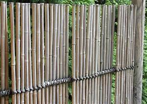 Garten Sichtschutz Bambus : filigraner blickdichter sichtschutzzaun aus bambus ~ Sanjose-hotels-ca.com Haus und Dekorationen