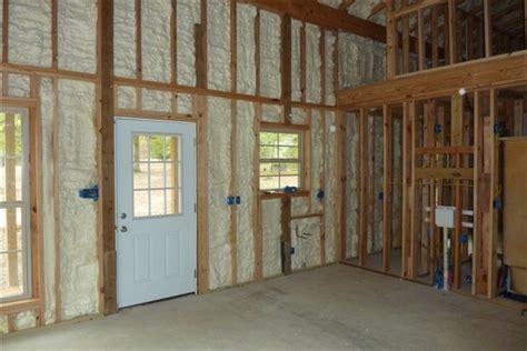 pole barn homes interior how one built his pole barn house milligan 39 s gander hill farm