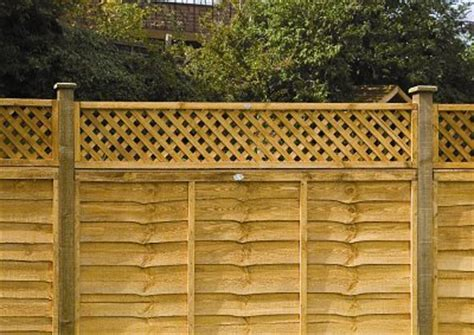 Trellis Fence Extension by Decorative Fencing Ideas Attractive Fence Panels And