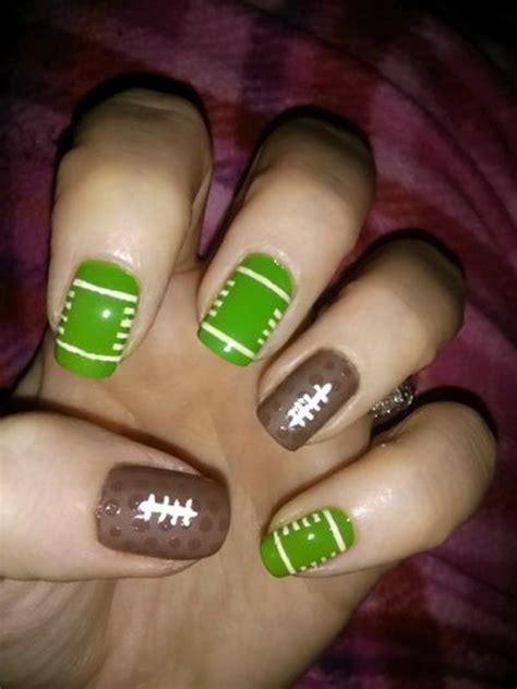 cool football nail art designs hative