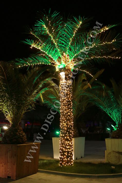 decorative palm trees with lights artificial palm tree led lighting