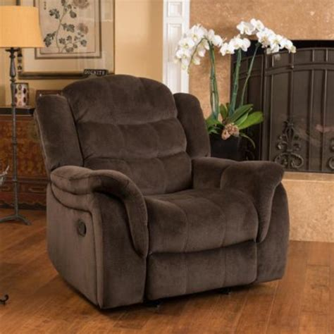 christopher home hawthorne fabric glider recliner