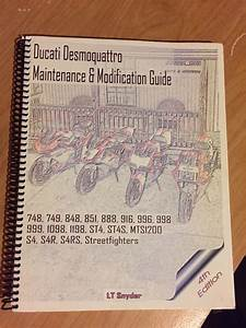 Lt Snyder Maintenance Guide For 4v Ducati 4th Edition