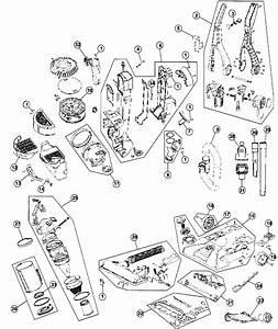 Hoover Model Uh70215 Vacuum  Upright Genuine Parts