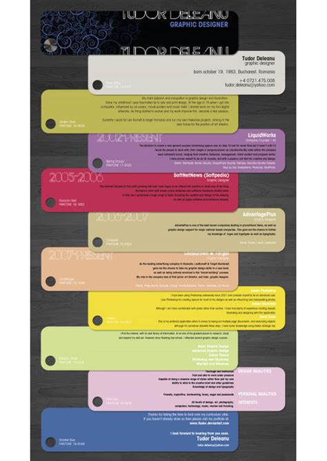 Creative Resume Designed By Moo by 15 Creative Amazing Resume Styles Spot Cool Stuff Design