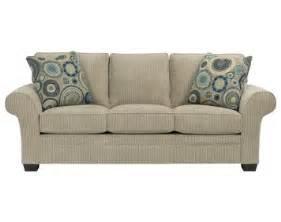 zachary queen size air dream sleeper sofa by broyhill