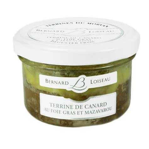 Recette Foie Gras De Canard En Terrine by Terrine De Canard Au Foie Gras Et Mazarou Terrines Du Morvan