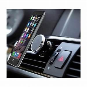 Support Aimant Telephone Voiture : support voiture magn tique pour iphone 7 plus aimant noir ventilateur universel 360 rotatif ~ Voncanada.com Idées de Décoration