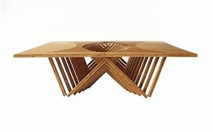 Robert van embricqs rising coffee table for sale at 1stdibs for Rising coffee table