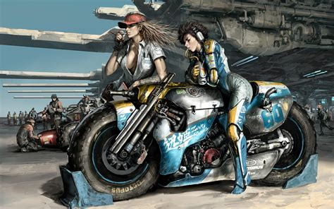 Hd Wallpapers Motorcycles And Girls (70+ Images