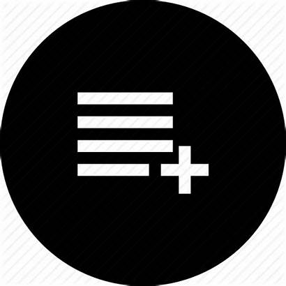 Playlist Icon Icons Category Noun Project Editor