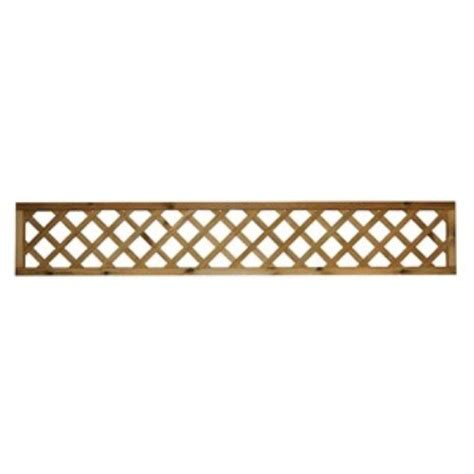 2ft Trellis Fence Panels by Dome Top Trellis 6ft X 6ft Coventry Turf