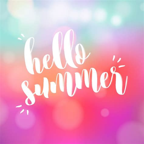 Desktop Summer Girly Wallpapers by Posiquotes Hello Summer Awesome With Sprinkles