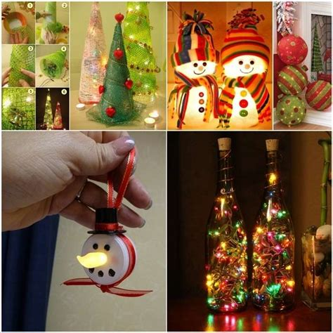 make it yourself christmas decorations 13 lighted decorations that you can make yourself