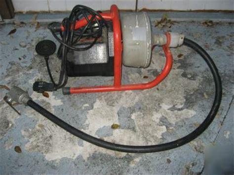ridgid   sink machine drain cleaner
