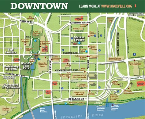 knoxville attractions restaurants academic games