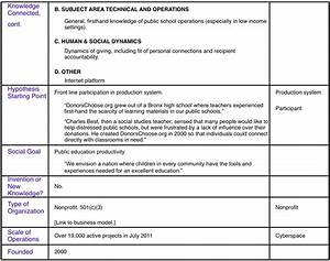applications databank With service matrix template