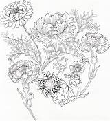Morris William Colouring Patterns Pages Coloring Embroidery Medley Template Designs Flower Botanical March Sketch Google Wordpress Published Prints Illustration Arts sketch template