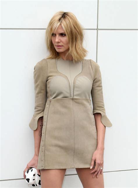 Photos of Heidi Klum at a Photo Shoot in LA | POPSUGAR ...
