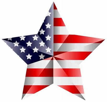 Transparent Stars Star American Clip Flag Clipart