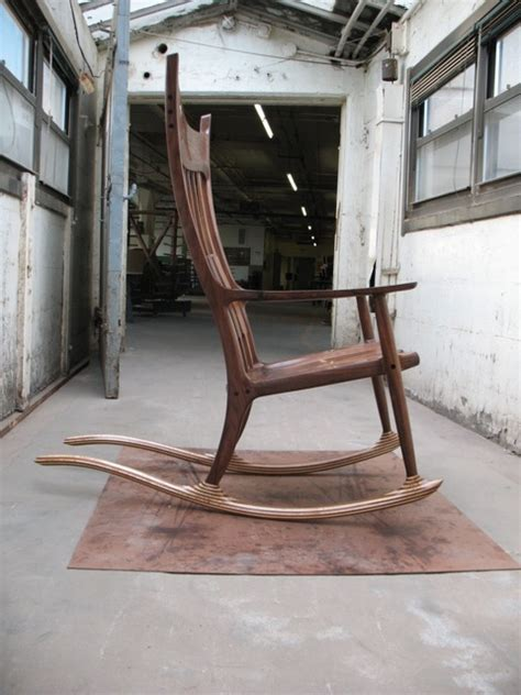 maloof rocking chair seat maloof rocking chair reproduction finewoodworking