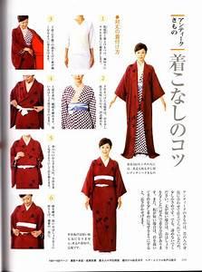 Short Kimono - No Ohashori Instructions