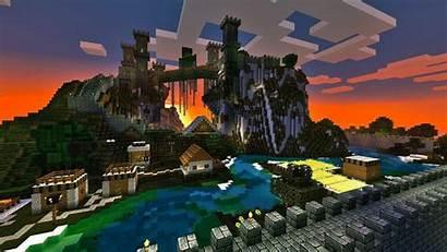 Minecraft Walls Wallpapers