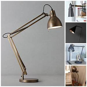 Industrial Copper Wall Lights Objects Of Design Five Of The Best Task Lights