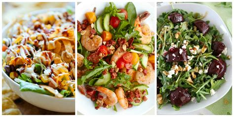 best dinner salad recipes 22 best salads for dinner easy recipes for hearty salads