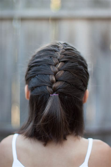 5 braids for short hair cute girls hairstyles