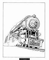 Train Coloring Steam Engine Ausmalbilder Eisenbahn Printable Locomotive James Sheets Malvorlagen Trains Scotsman Flying Drawing Railroad Template Konabeun Freight Kostenlos sketch template