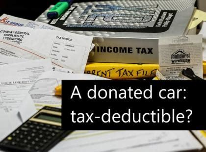 tax deductions donations tips