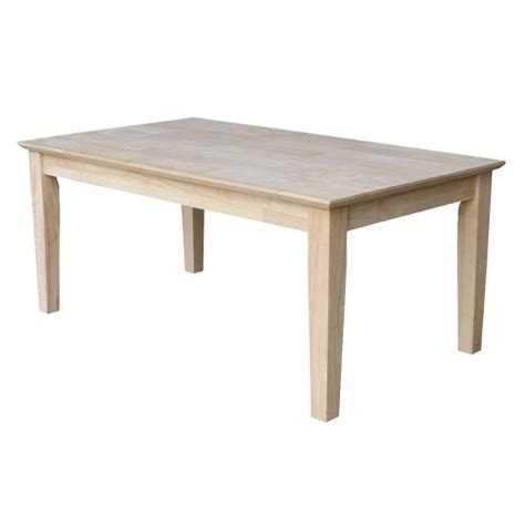 Shaker Tall Coffee Table  International Concepts  Target