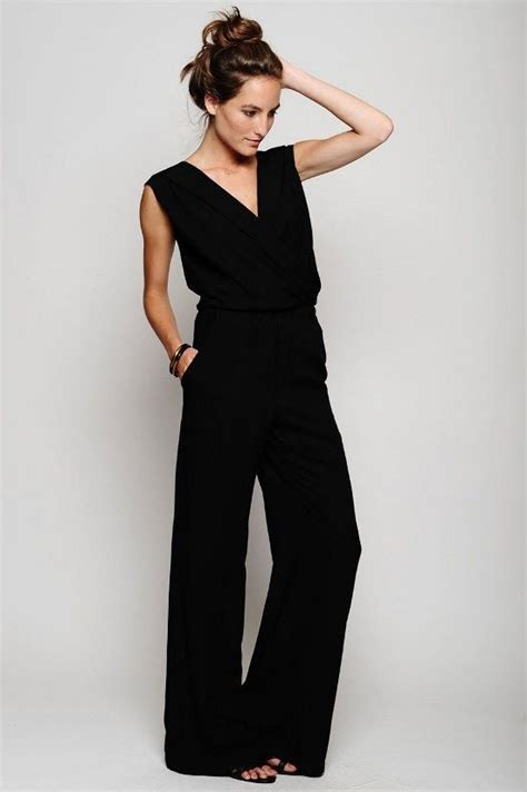 and black jumpsuit dressy jumpsuits dressed up