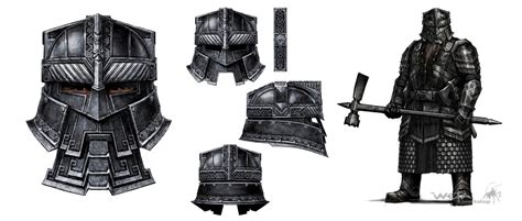 The Hobbit Dwarve Armor Template by Dwarven Battle Armor Lotr Skyrim Mod Requests The