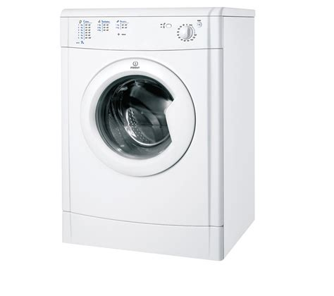buy indesit ecotime idv75 vented tumble dryer white