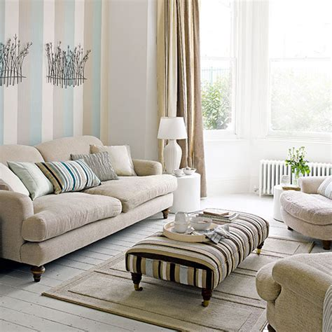 Living Room Wallpaper Neutral by Neutral Living Room Ideas For A Cool Calm And Collected