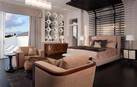 dark wood flooring  modern bedroom designs home