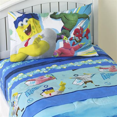spongebob toddler bedding spongebob bedding totally totally bedrooms