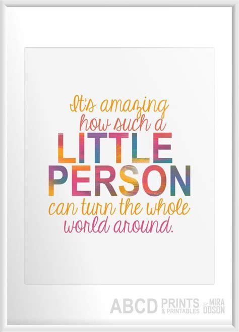 nursery quote print  amazing     person