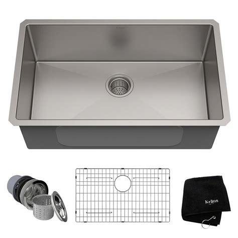 wholesale kitchen sinks stainless steel ruvati undermount stainless steel 26 in single bowl