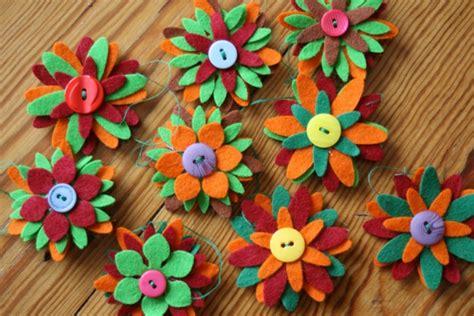 blumen kostüm selber machen filzblumen selber machen finden sie kreative ideen archzine net