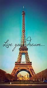Eiffel Tower Wa... Inspirational Paris Quotes