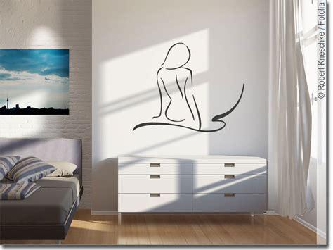 wandaufkleber weiblicher ruecken frauen silhouette