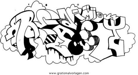 Grafiti Abjad Hitam Putih : Graffiti Grafiti 10 Gratis Malvorlage In Diverse